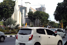 Monumen Bambu Runcing, Surabaya, Indonesia