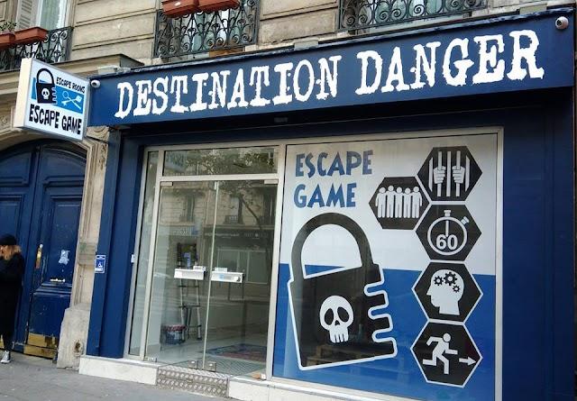 Destination Danger - Escape Game Paris 2