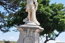 Schulenburg Statue, Corfu Town, Greece