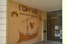 Bibliotheque Municipale l 'Odyssee, Menton, France
