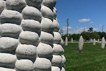 Field of Giant Corn Ears, Dublin, United States