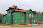 Деревянное каркасное домостроение, улица Тургенева, дом 26А на фото Хабаровска