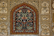 Sheesh Mahal (Hall of Mirrors), Amer, India