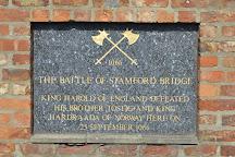 Stamford Bridge battle site, Stamford Bridge, United Kingdom