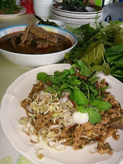 Bua Phak Kwian Minced Duckrestaurant