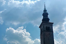 St Mary of the Assumption church, Kobarid, Slovenia
