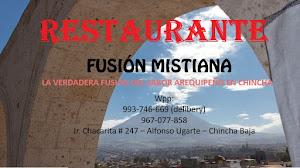 RESTAURANTE FUSIÓN MISTIANA 0
