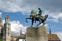 Hans Waldmann Statue, Zurich, Switzerland