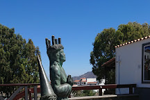 Escultura a la Santa Lucia Sueca, Santa Lucia de Tirajana, Spain
