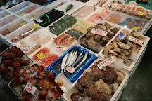 Yuriage Port Morning Market, Natori, Japan