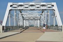 John Seigenthaler Pedestrian Bridge, Nashville, United States