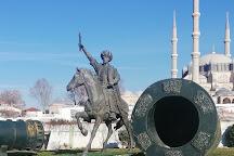Fatih Sultan Mehmet Heykeli, Edirne, Turkey