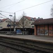 Железнодорожная станция  Unterhaching