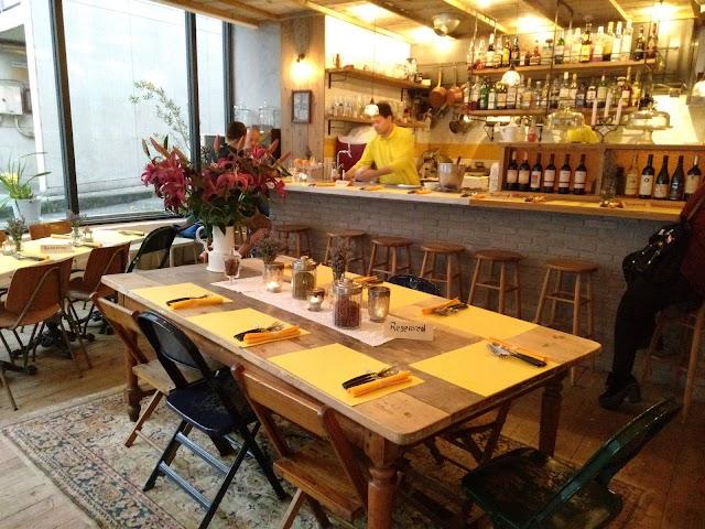 Mamma Luisa's Table