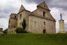 Ruiny Warownego Klasztoru Karmelitow Bosych, Zagorz, Poland