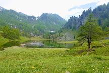Lago Nero, Cesana Torinese, Italy