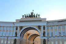 The General Staff Building, St. Petersburg, Russia