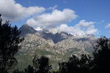 Cascade du Voile de la Mariee, Bocognano, France