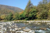 Latorica River, Mukacheve, Ukraine
