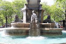 Fontaine du Palmier, Paris, France
