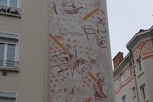 Marche de la Croix-Rousse, Lyon, France