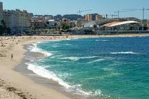 Praia de Riazor, La Coruna, Spain
