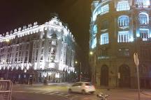 Plaza de las Cortes, Madrid, Spain