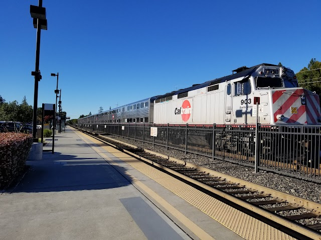 California Avenue Train Station