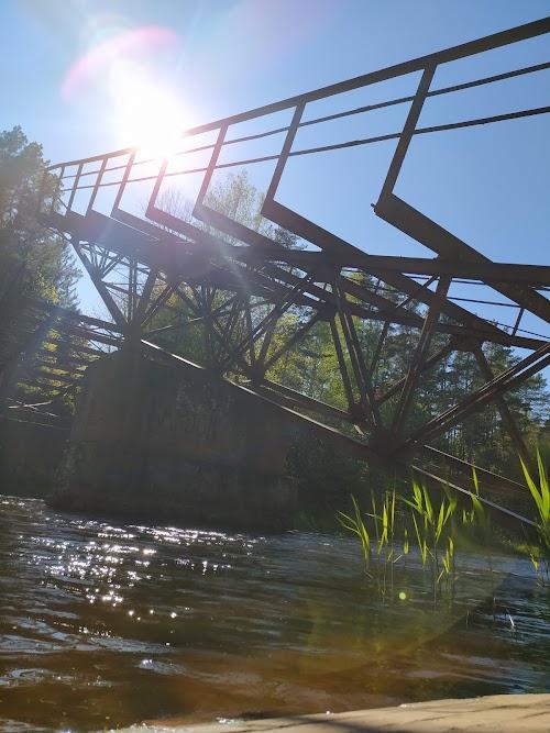 Pakeliamo tilto liekanos