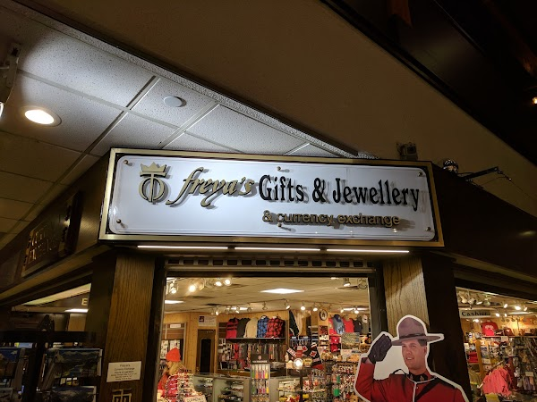 Freya's Gifts, Jewellery & Currency Exchange, +1 403-762-4652, 108 Banff  Ave, Banff, AB T1L 1A7, Canada