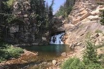 Running Eagle Falls, Glacier National Park, United States