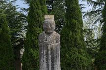 Tomb of Emperor Taizong (Zhaoling Tomb), Liquan County, China