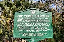 The Three Chimneys Historical Site, Ormond Beach, United States
