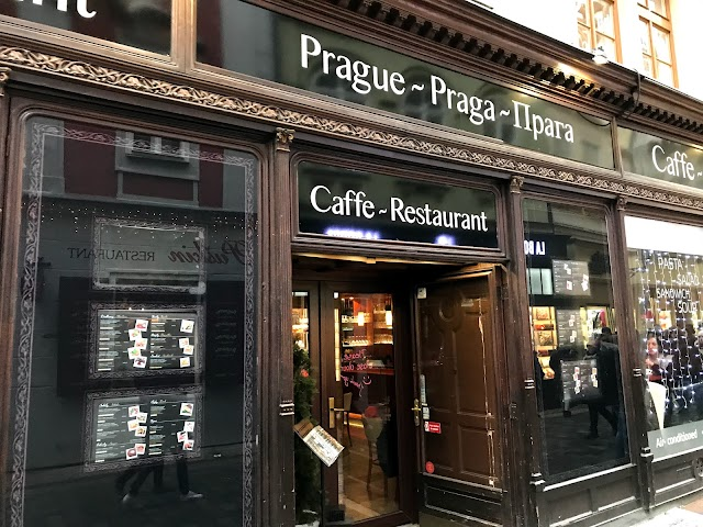 Caffe Restaurant Prague
