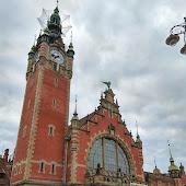 Железнодорожная станция  Gdansk Glowny