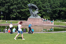 Chopin Monument, Warsaw, Poland