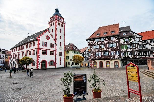 Mannheim - Rothenburg ob der Tauber und der Turmweg