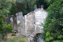 Chapelle de Saint-Cassien des Bois, Tanneron, France