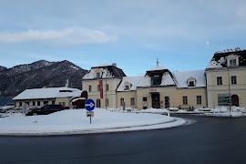 Железнодорожная станция  Reutte In Tirol