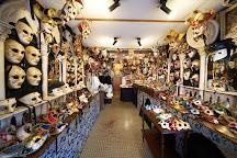 Mistero Buffo - Authentic Venetian Masks, Venice, Italy