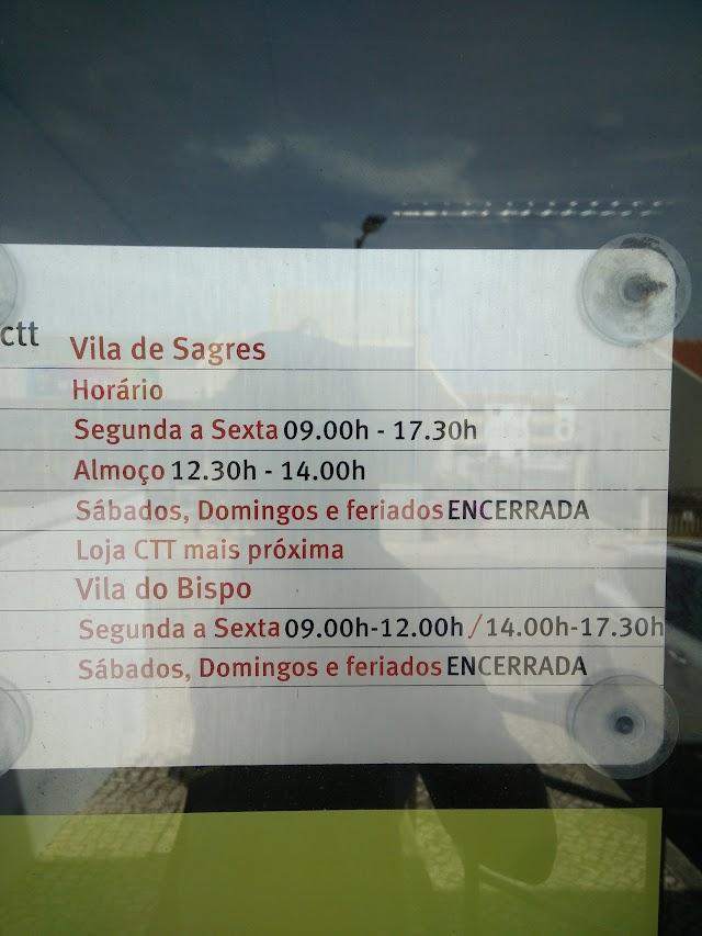 Estação dos Correios de VILA DE SAGRES