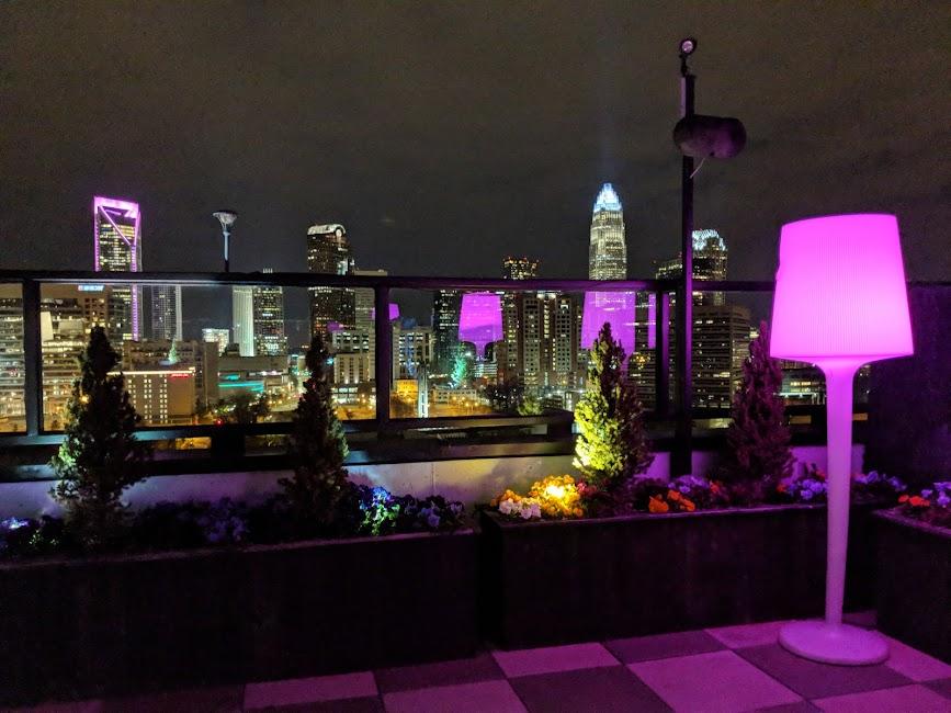 City Lights Rooftop Charlottes Got A Lot