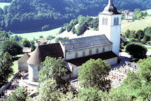 Eglise Saint Theodule, Gruyeres, Switzerland