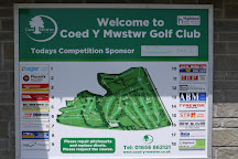 Coed-Y-Mwstwr Golf Club, Bridgend, United Kingdom