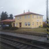 Железнодорожная станция  Holysov