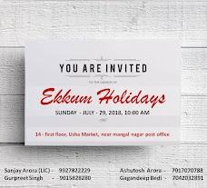 Ekkum Holidays saharanpur