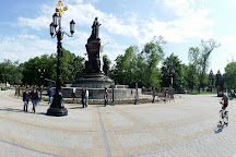 Monument to Catherine the Great, Krasnodar, Russia