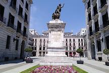 Plaza Porticada, Santander, Spain
