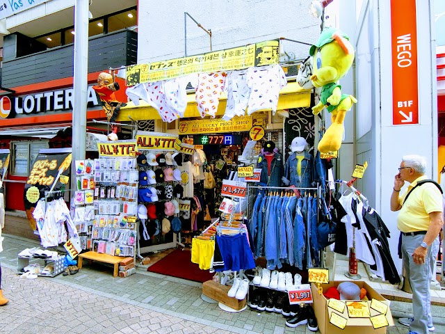 sevens原宿竹下通り店