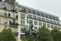 Statue equestre de Washington, Paris, France
